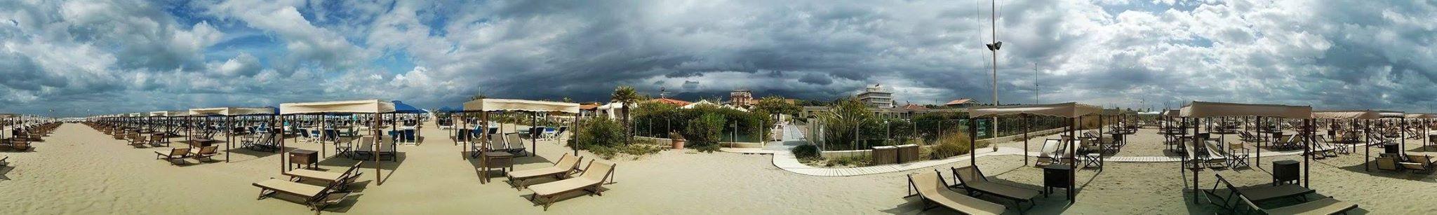 Immagine panoramica Bagno in Versailia Stella Bianca